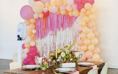 Through Rosé Colored Glasses : A Bridal Shower Styled Shoot