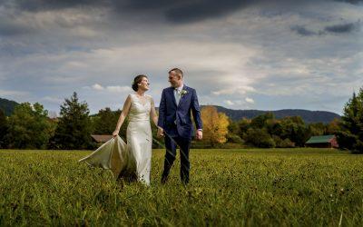 Hillary and Preston : A Backyard Vermont Fall Wedding
