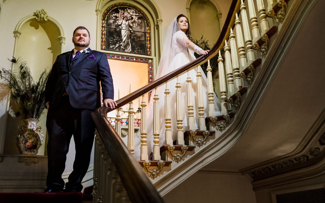Amber and Andrew :  A St. Mary's Catholic Wedding and Opera Memphis Reception