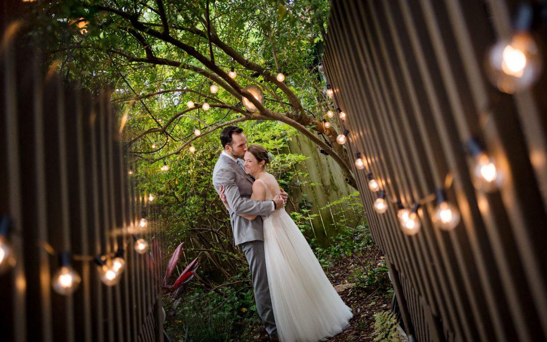 Kaley and Milos : A Memphis Backyard Wedding